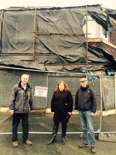Thelwall Cllrs at Thelwall New Road (Warrington Liberal Democrats)