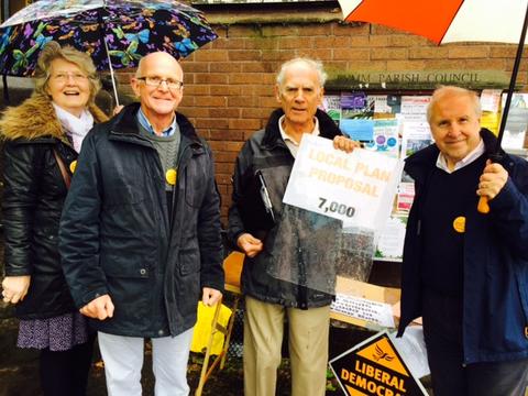 Local Plan Stall (Warrington Liberal Democrats)