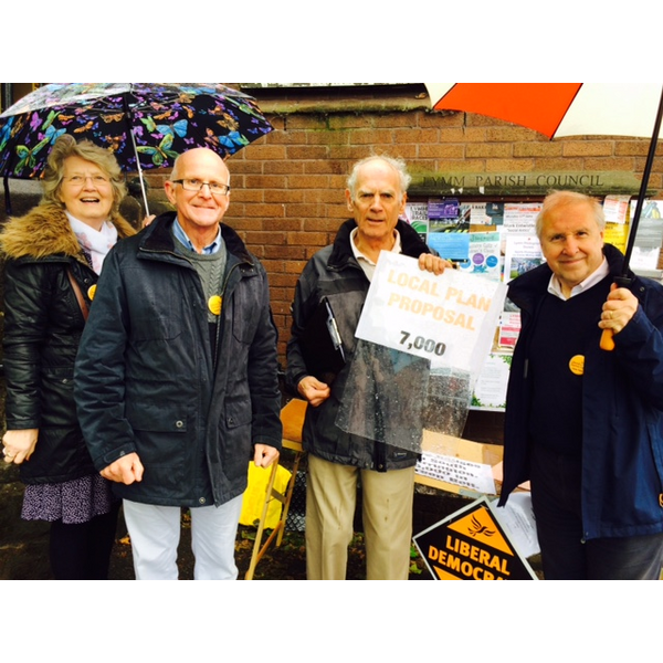 Local Plan Stall (Warrington Liberal Democrats)